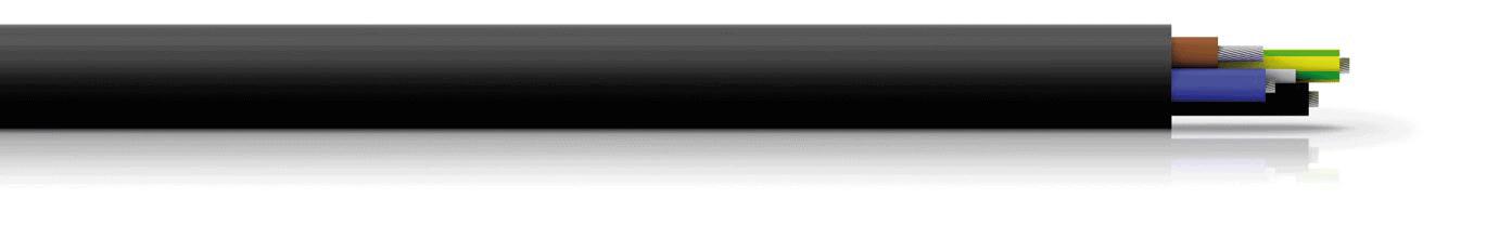 MNZ 45M_Halogenfreie vernetzte Mantelleitung